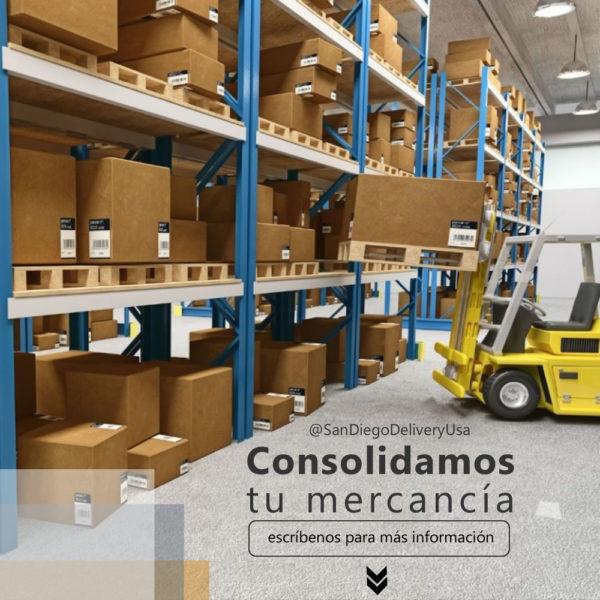 San Diego Delivery Consolida tu Compra