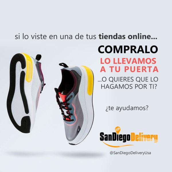 San Dieglo Delivery Ayuda en Compras online